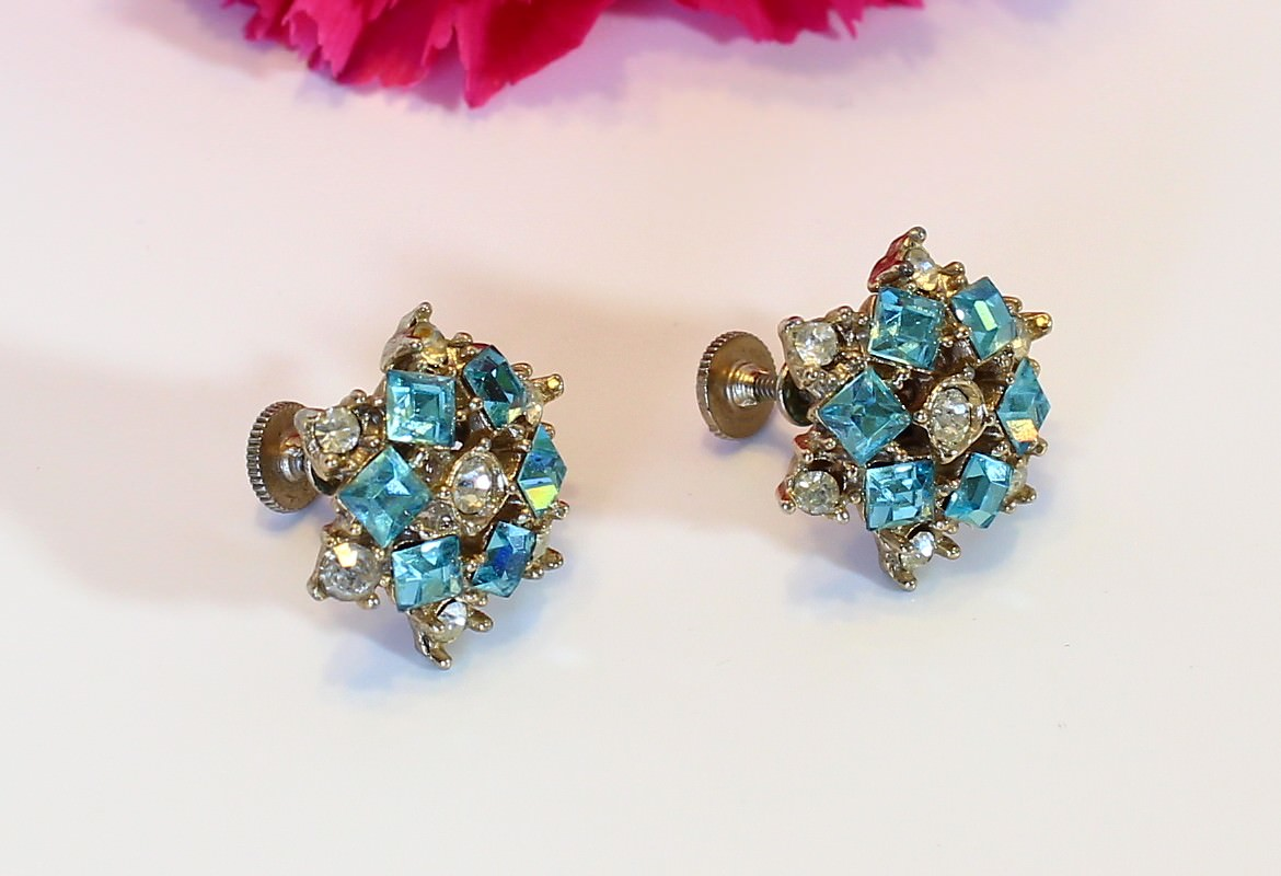 Vintage Earrings Antique Earrings Weiss Juliana 975
