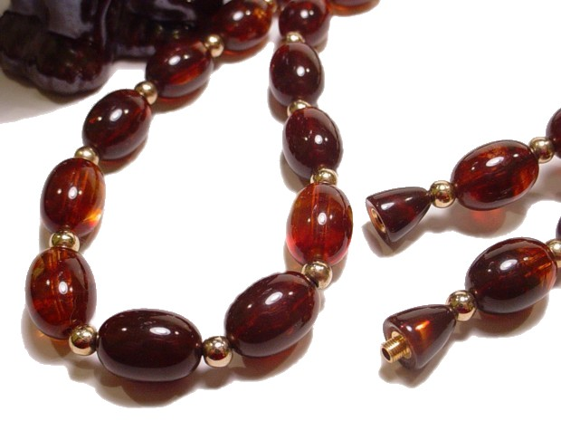 Accent With A Vintage Bead Necklace And Vintage Lucite