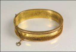 Etruscan revival c 1879 bangle