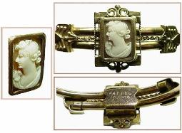 Edwardian Cameo Bangle
