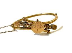 Antique Edwardian Bracelet Bangle | Victorian
