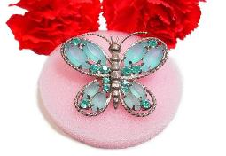 Butterfly Brooch is also a Necklace Pendent