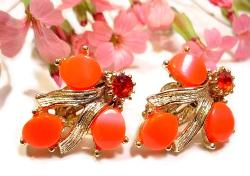 Oranges Thermoset Earrings