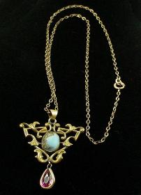 Antique Victorian Lavaliere Necklace