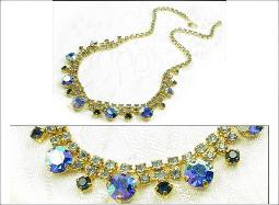 Austria always know for top quality rhinestones and crystals with shimmering shades of blues