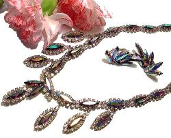 Juliana Demi Parure Vintage Costume Jewelry