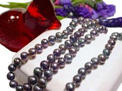 Pearl Necklace and Bracelet signed 925