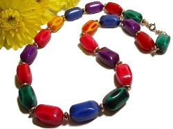 Vintage Bead Necklaces | Beautiful Mix of Colors