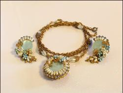 Vintage Juliana Necklace and Earrings Demi