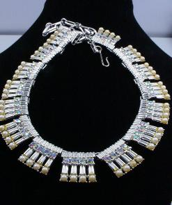 CORO FULL PARURE BRACELET NECKLACE EARRINGS