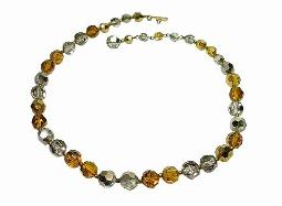 Facet Crystal Necklace, Colors You Don't See Often