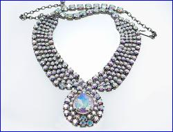 A True Beauty - Large Center Stone Paved Necklace