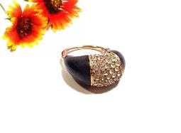 HIGH SET Pave RS Ring, size 7