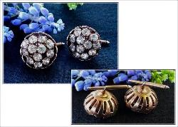 Antique Automatic Stud Cufflinks